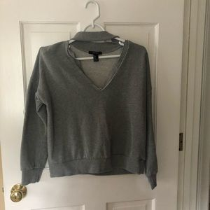 Forever 21 sweat shirt top